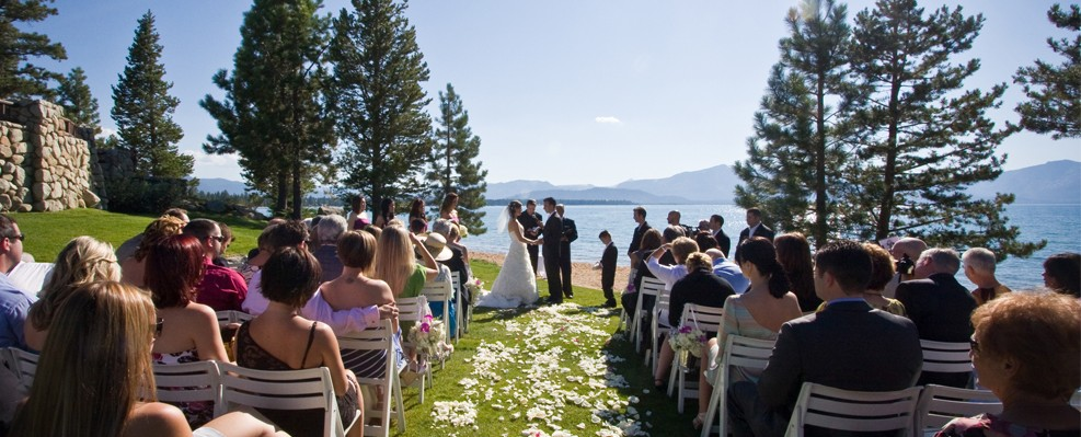 Lake Tahoe Wedding Country Club Venue Front