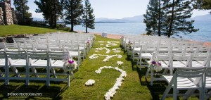 Lake Tahoe Wedding | Country Club South Lake Tahoe Wedding Sites | Lake Front Wedding
