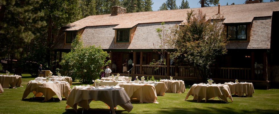 Lake Tahoe Wedding Historic Venue | Weddings on Lake Tahoe