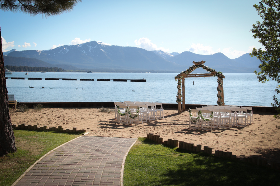 toes in the sand south lake tahoe weddings