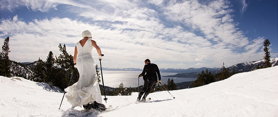 lake tahoe ski weddings