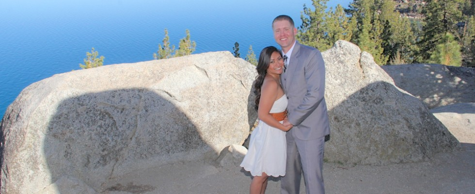 outdoor wedding venue in south lake tahoe