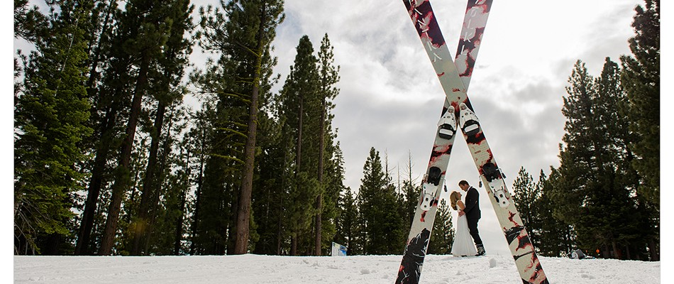 ski weddings in lake tahoe