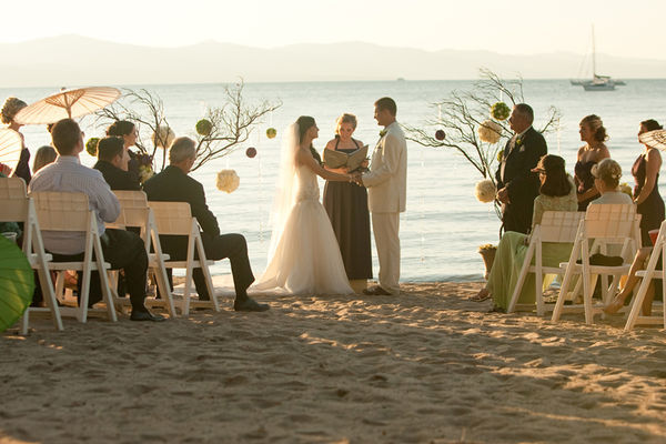 Beach Wedding Venue in Lake Tahoe