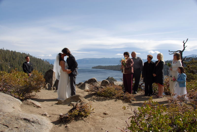 Gorgeous Lake Tahoe Wedding At Emerald Bay