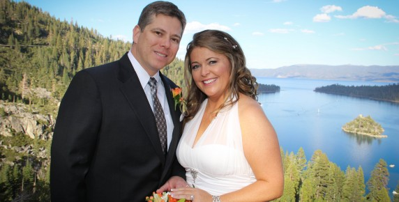 best place for a lake tahoe wedding
