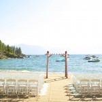 beach wedding lake tahoe