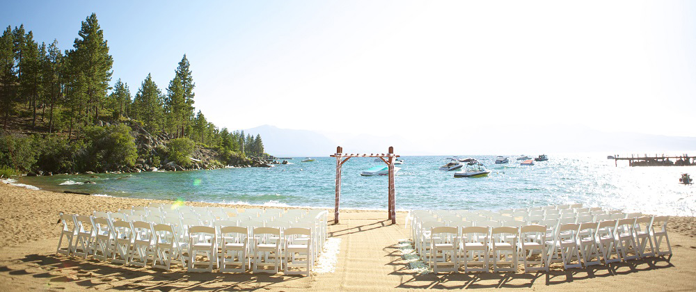 Our new lake tahoe beach wedding venue lifes a beachlake tahoe beach wedding lake tahoe junglespirit Images