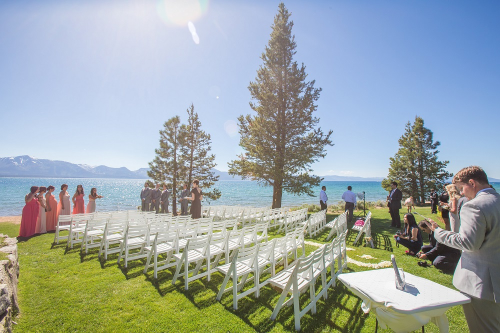 North Room Terrace Venue Lake Tahoe Weddings