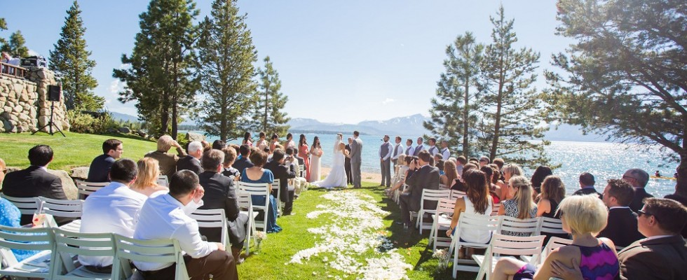 Lake Tahoe Wedding Venue Front Weddings At Edgewood Tahoelake In