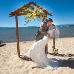 www.hallcreations.com, lake front wedding